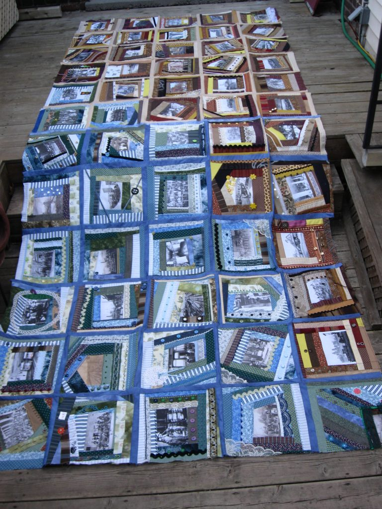 """""""The Worker and Work: Time Stands Still"""" Quilt"""