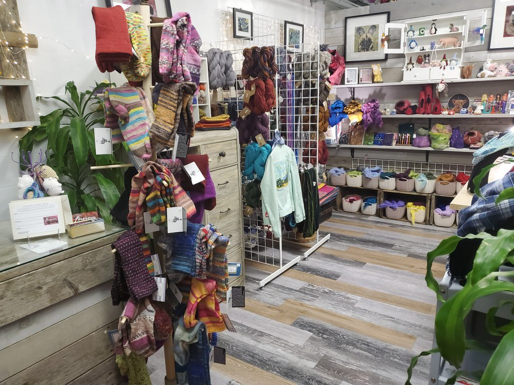 Just some of the amazing products available in the Fusion Fiber Arts shop!