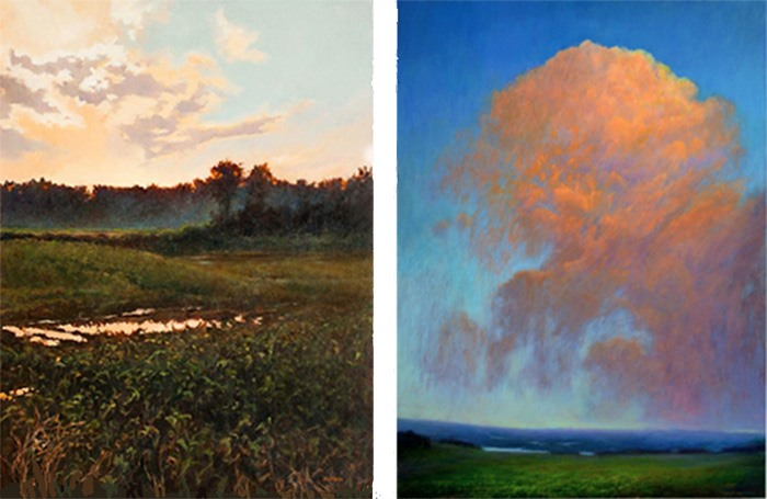 Shō Snapshots: Land & Sky in Oils and Acrylics – 2 Artists / 2 Perspectives
